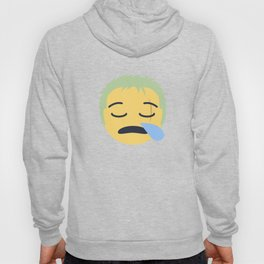 Roronoa Zoro Emoji Design Hoody