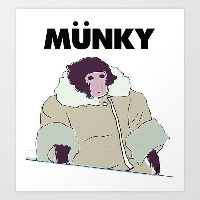 Ikea Monkey Art Print