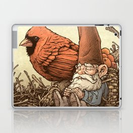 Sleepy Gnome & Cardinal Laptop & iPad Skin