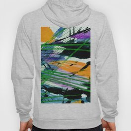 Abstract Joy 3B by Kathy Morton Stanion Hoody