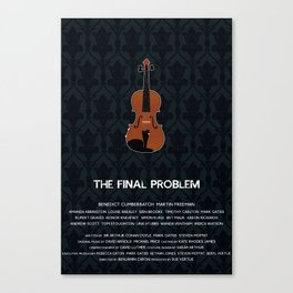 The Final Problem Canvas Print
