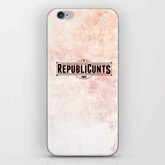 RepubliCunts iPhone & iPod Skin