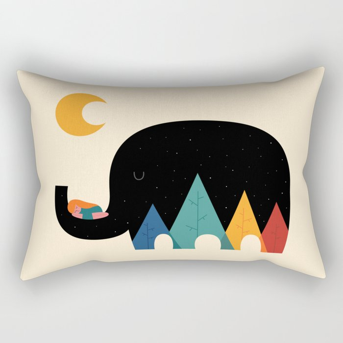 Dream In The Air Rectangular Pillow