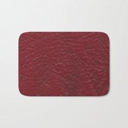 Skin #5_Carnelian Red Bath Mat