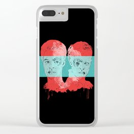 Assimilation Clear iPhone Case