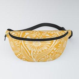 Saffron Coneflowers Fanny Pack