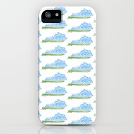 Kentucky Home State iPhone Case