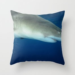 Lemon from Above Throw Pillow