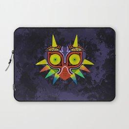 Majora's Mask Splatter Laptop Sleeve