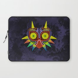 Majora's Mask Splatter Laptop Sleeve