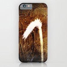 Glowing grass in starry cave iPhone 6s Slim Case