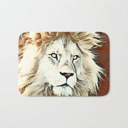 Warm colored Lion King Bath Mat
