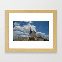Quixote's Windmills Framed Art Print