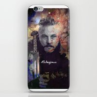 vikings iPhone & iPod Skins featuring Ragnar in the Stars - Vikings by RsDesigns