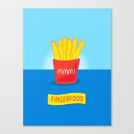 Fingerfood Canvas Print