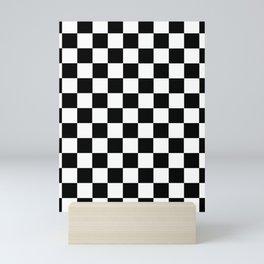 Ska Checker Pattern Mini Art Print