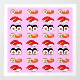 Sushis Art Print