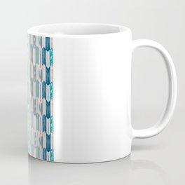 Rabbit Run Navy Coffee Mug