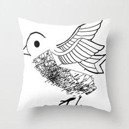 Freed Throw Pillow