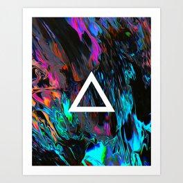 Saz Art Print
