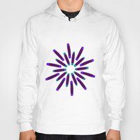fireworks Hoodies featuring Fireworks  by Alexandra Aguilar