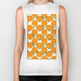 Carrot pattern Biker Tank