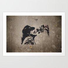 Graffiti #1 Art Print