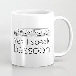 I speak bassoon Coffee Mug