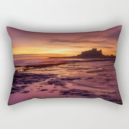 Bamburgh Castle Rectangular Pillow