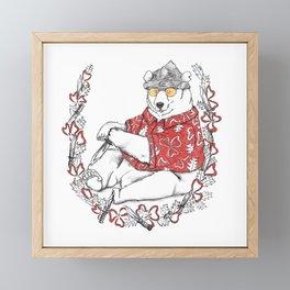 The Great Fox Hunt- Red Beard Framed Mini Art Print