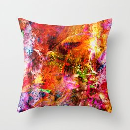 Effervescent Throw Pillow