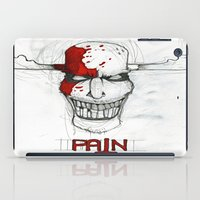 """pain iPad Cases featuring """"Pain"""" by Pastuv"""