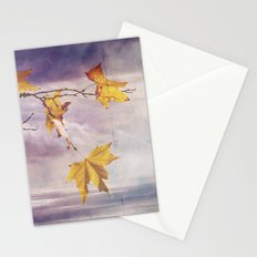 Faded Leaves - JUSTART © Stationery Cards