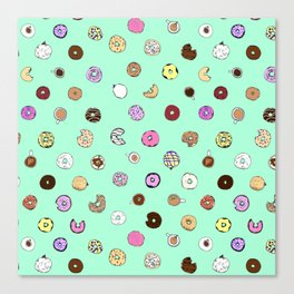 Donut You Want Some Canvas Print