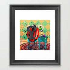 You Found Your Stitchy Bug Framed Art Print