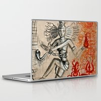 shiva Laptop & iPad Skins featuring Shiva by Maithili Jha