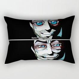 Same rules apply Rectangular Pillow