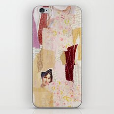 girl without wolf iPhone & iPod Skin