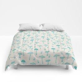 Mushroom Pattern I Comforters