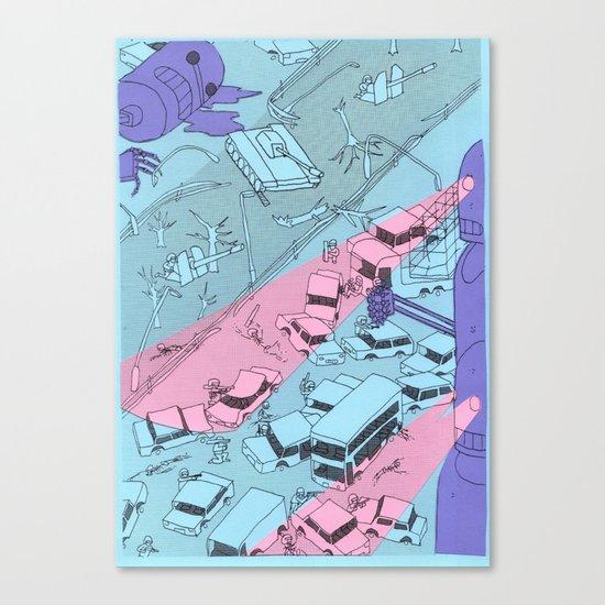 Alien Robots Canvas Print
