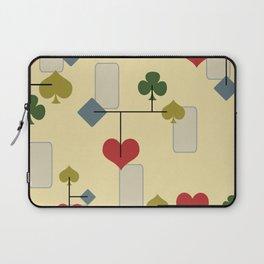 Atomic Era Card Suite Art Laptop Sleeve