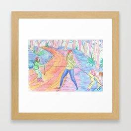 Community Service Framed Art Print