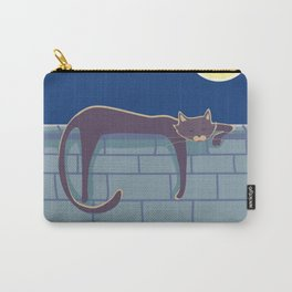 Cat on the wall Carry-All Pouch