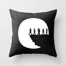 Subservient Throw Pillow