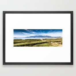 L'Encanyissada Framed Art Print