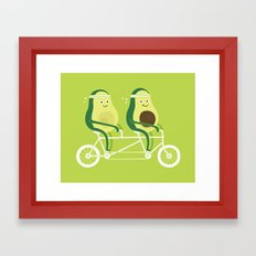 AvoCardio Framed Art Print