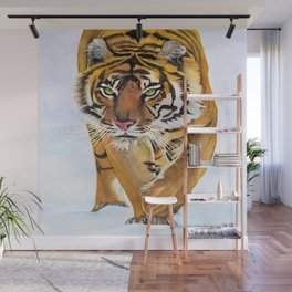 Walking Tiger Wall Mural
