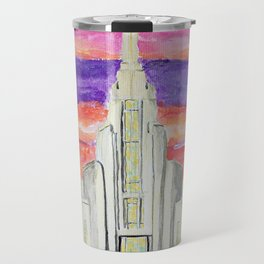 Rome Italy LDS Temple Travel Mug