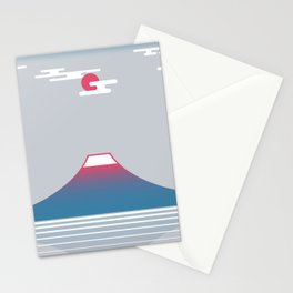 snow mountain 02 Stationery Cards