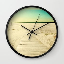 Sun and Sand Wall Clock